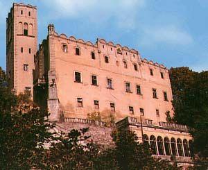 Widok ogólny zamku